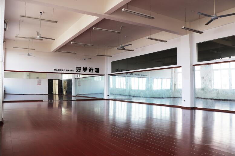 江西泛美中等专业学校舞蹈训练室